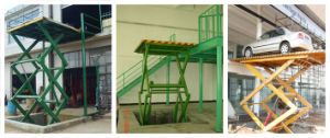 Stationary Scissor Lift Platform pictures & photos