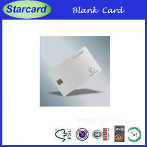Blank Inkjet Sle4442 Contact IC Card pictures & photos