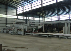 Automatical Short Cycle Lamination Hot Press Double Sides Machine pictures & photos