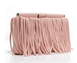 Fashion Tassel Bag Shoulder Crossbody Bag (LDO-01643) pictures & photos