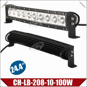 "100W 24.4"" CREE Single Row Curved Light Bar (CH-LB-208-10-100W)"