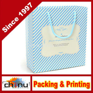 Art Paper / White Paper 4 Color Printed Bag (2263) pictures & photos