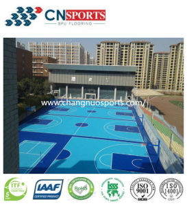 Synthetic Outdoor Basketball Court Sport Surface pictures & photos
