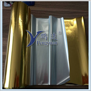 Gold Hairline Pet Film VMPET pictures & photos