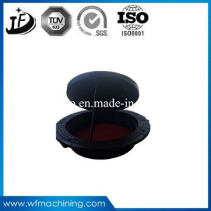 Ductile Iron Metal Mould Sand Casting Round Double Sealed Manholes pictures & photos