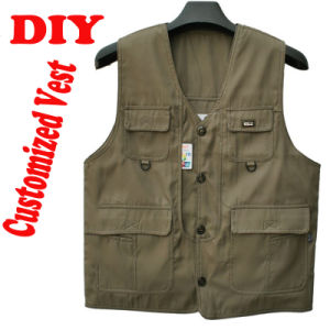 Uniform Vest, Vest for Men, Wedding Photography Vest, Volunteer Vest, Working Clothes