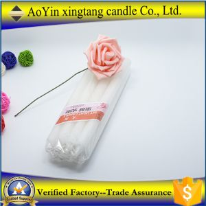 Wholesale New Product 2016 Pure White Paraffin Wax Candles pictures & photos