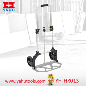 2015 New Aluminum Luggage Hand Pallet Truck pictures & photos