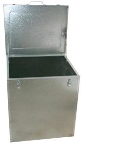 Galvanised Sheet Metal Box Corn Bin 225kg / 420LTR - Plain Bin pictures & photos