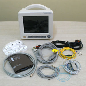 8 Inch Multi Parameter Portable Patient Monitor (Moni 6C) pictures & photos