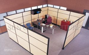 Modern Office Wooden High Partition Cabin (SZ-WS033) pictures & photos