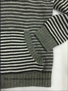 Boys Stripe Hoody - True Knitted Sweater pictures & photos