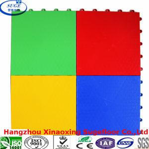 Suge Indoor Interlocking PP Sport Floor Tile pictures & photos