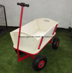 Kids Garden Trolley with Wood Fence and Canopy pictures & photos