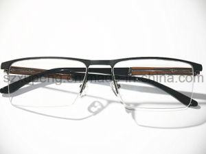 Wholesetop Selling Half Rim Aluminum Eyewear Frame