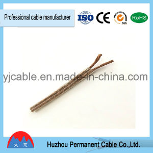 Red and Transprent Two Core Parallel Speaker Cable pictures & photos