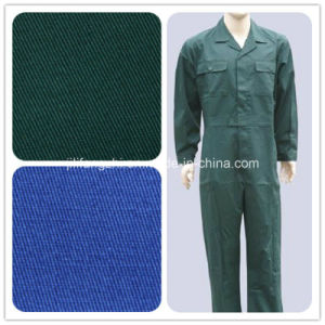 100% Cotton/Polyester Uniform Textile Supplier in China pictures & photos