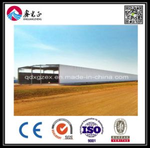 Steel Frame Mobile/Modular/Prefab/Prefabricated Steel Warehouse (BYSS052026) pictures & photos