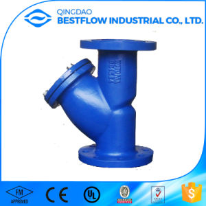 Dn100 Ductile Iron Y Strainer Prices pictures & photos