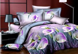 Chinese Supplier King Size/Queen Size 3D Printed Bedding Set pictures & photos