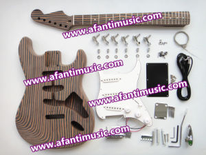 Afanti Music St Style Zebra Wood Electric Guitar Kit (AST-829K) pictures & photos