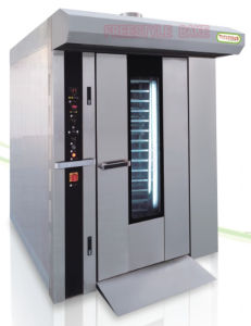 16 Trays Diesel Rotary Oven Jm-16c