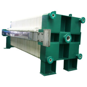 Wrapped Stainless Steel Plate Filter Press