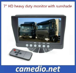"7"" HD Digital Panel 800*480 DC12-32V Sunvisor Car Reverse Monitor pictures & photos"