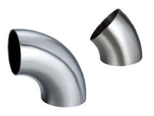 304/316L Sanitary Stainless Steel Short Welded Elbow pictures & photos