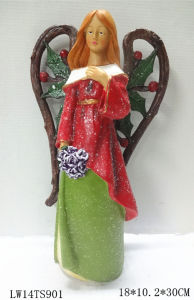 Christmas Colorful Fairy Figurine Gift Home and Garden Gift pictures & photos