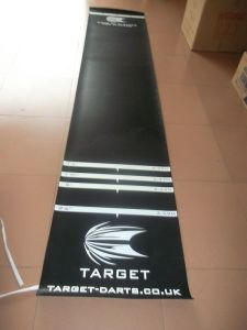 High Quality Durable Fiber Rubber Dart Mat pictures & photos