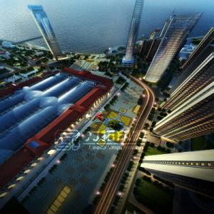 Planform High Rise Architecture 3D Rendering