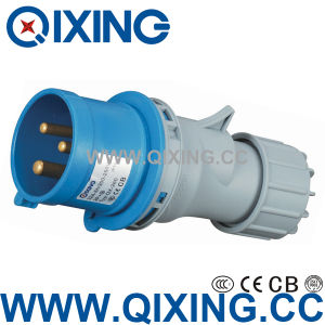 Industrial Plug 16A 230V 2p+E IP44 pictures & photos