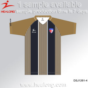 Healong Retro Fully Sublimated Wholesale Blank Uniform Shirt Football Jerseys pictures & photos