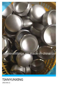 ANSI B16.9 Seamless Steel Pipe Fitting Stainless Cap pictures & photos