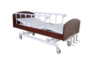 Three Functions Manual Home Care Bed Hospital Bed pictures & photos