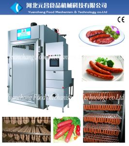 Sausage Smokehouse Oven Sausage Making Machine Production Line pictures & photos
