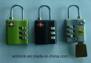 Tsa Combination Padlock, Travel Lock (TSA-320) pictures & photos