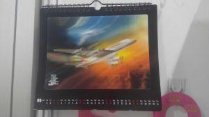 Custom 3D Table Calendar/Desk Calendar/Wall Calendar/Monthly Calendar pictures & photos