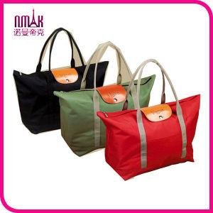 Fashion Portable Foldable Nylon Travel Luggage Clothes Organizer Storage Bag Set of 2 pictures & photos