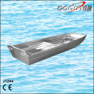 1.2mm Thickness J Type Small Aluminum Boat with Flat Bottom pictures & photos