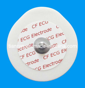 Disposable ECG Monitoring Electrode, PE Foam Backing, 43*45mm pictures & photos