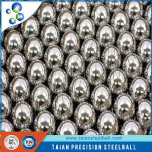 Chrome Steel Ball AISI52100 0.4375inch Ndustry Drilled Steel Ball