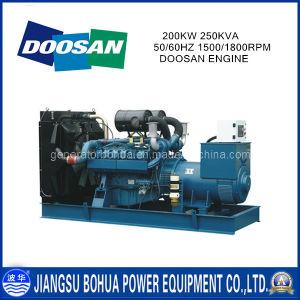High Performance Good Price 250kVA Doosan Engine Generators