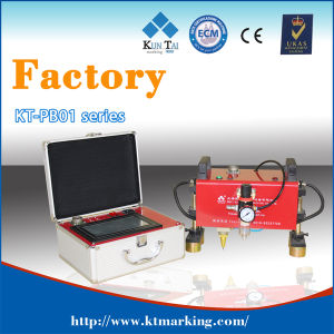 150X50mm CNC Pneumatic DOT Pin Engraving Machine pictures & photos