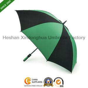 "50"" Arc Automatic Windproof Golf Umbrella with Rubber Handle (GOL-0025FA) pictures & photos"