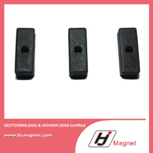 High Quality Block Ferrite Permanent Magnet Manufactured by Factory for Customer Need pictures & photos