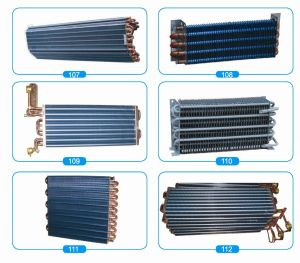 Refrigeration Part Copper Tube Heat Exchanger pictures & photos