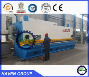 QC12Y Hydraulic Sheet Metal Plate Shearing Machine pictures & photos