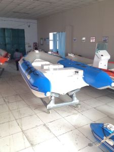 Classical Inflatable Fishing Boat, Small Cheap Made in China Rib Boat, Outboard Motor Boat, PVC or Hypalon Rib470c with Ce Cert. for Sale pictures & photos